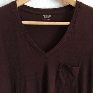 Madewell Tops - Madewell Short sleeve V neck Tee. EUC